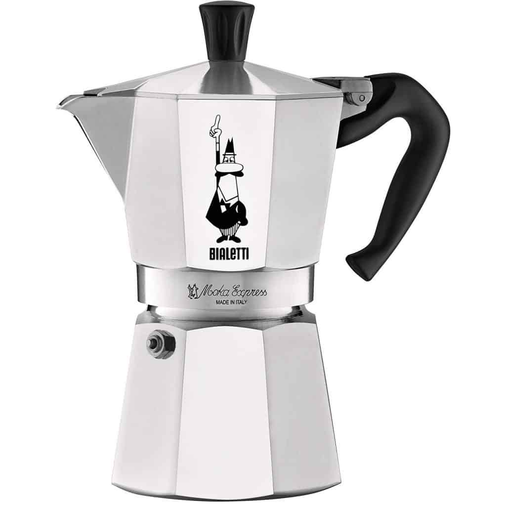 Bialetti Moka Express 6-Cup Best Stovetop Espresso Maker 2019